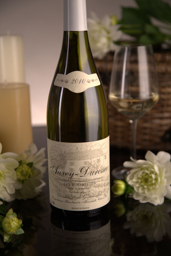 French White Burgundy Wine, Domaine Boyer-Gontard 2010 Auxey-Duresses Les Ruchottes